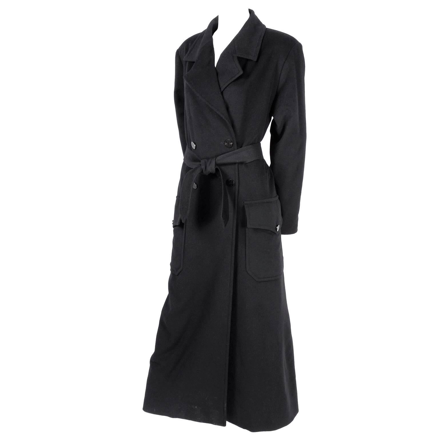 Chanel Wool and Cashmere Coat with CC Monogram Buttons, 1998