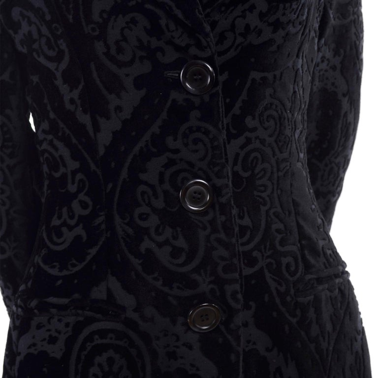 We absolutely fell in love with this beautiful coat when we found it! We love Dolce & Gabbana and really appreciate their contributions to the fashion world over the years. This beautiful coat has the older, 1980's label and is in beautiful