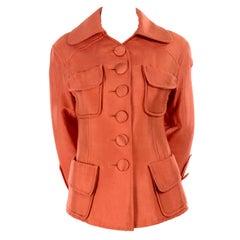 Christian Lacroix Paris Vintage Copper Jacket