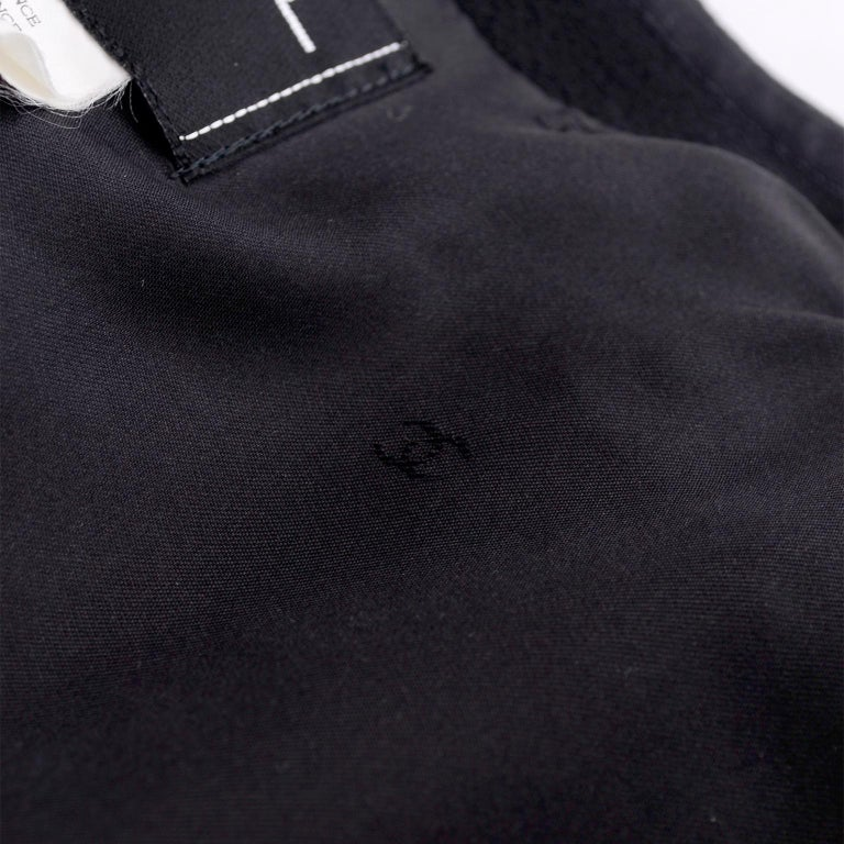 Chanel Jacket and Skirt Suit in Black Wool With Silk Lining Cruise Resort 1998 For Sale 7