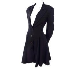 Vintage 1980s OMO Norma Kamali Black Jacket or Blazer