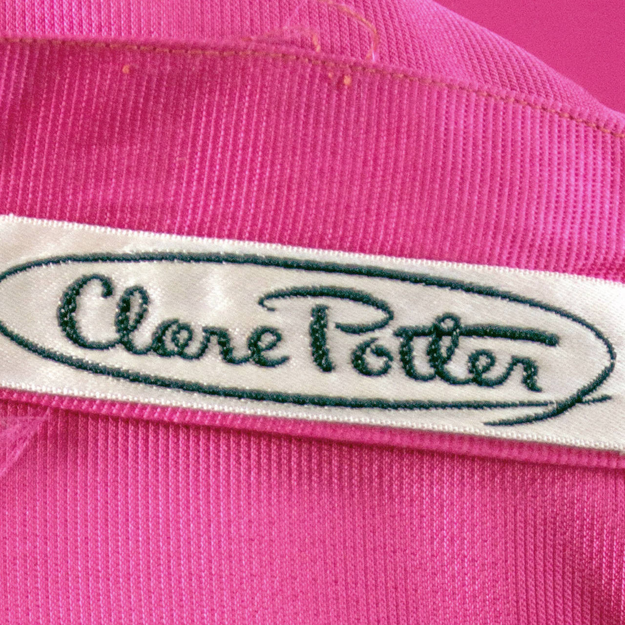1950s Rare Clare Potter Vintage Pink Long Evening Gown Documented 6