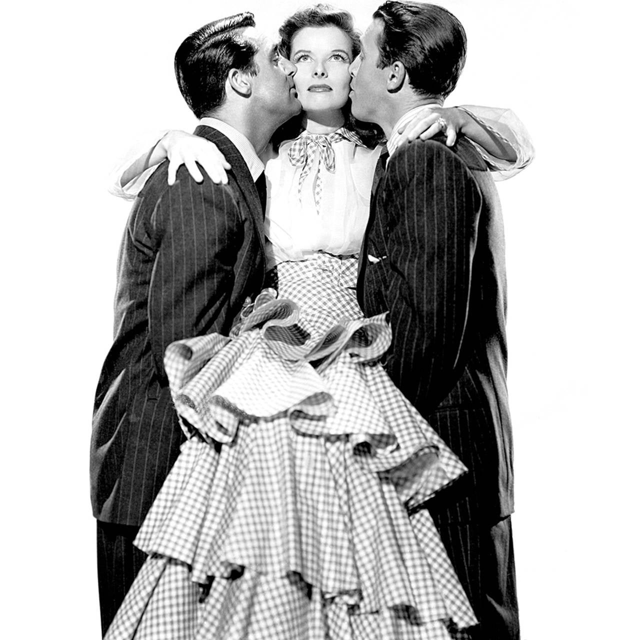 1940s Vintage Gilbert Adrian Original Dress Pink Ruffles Rare Designer Gown 9