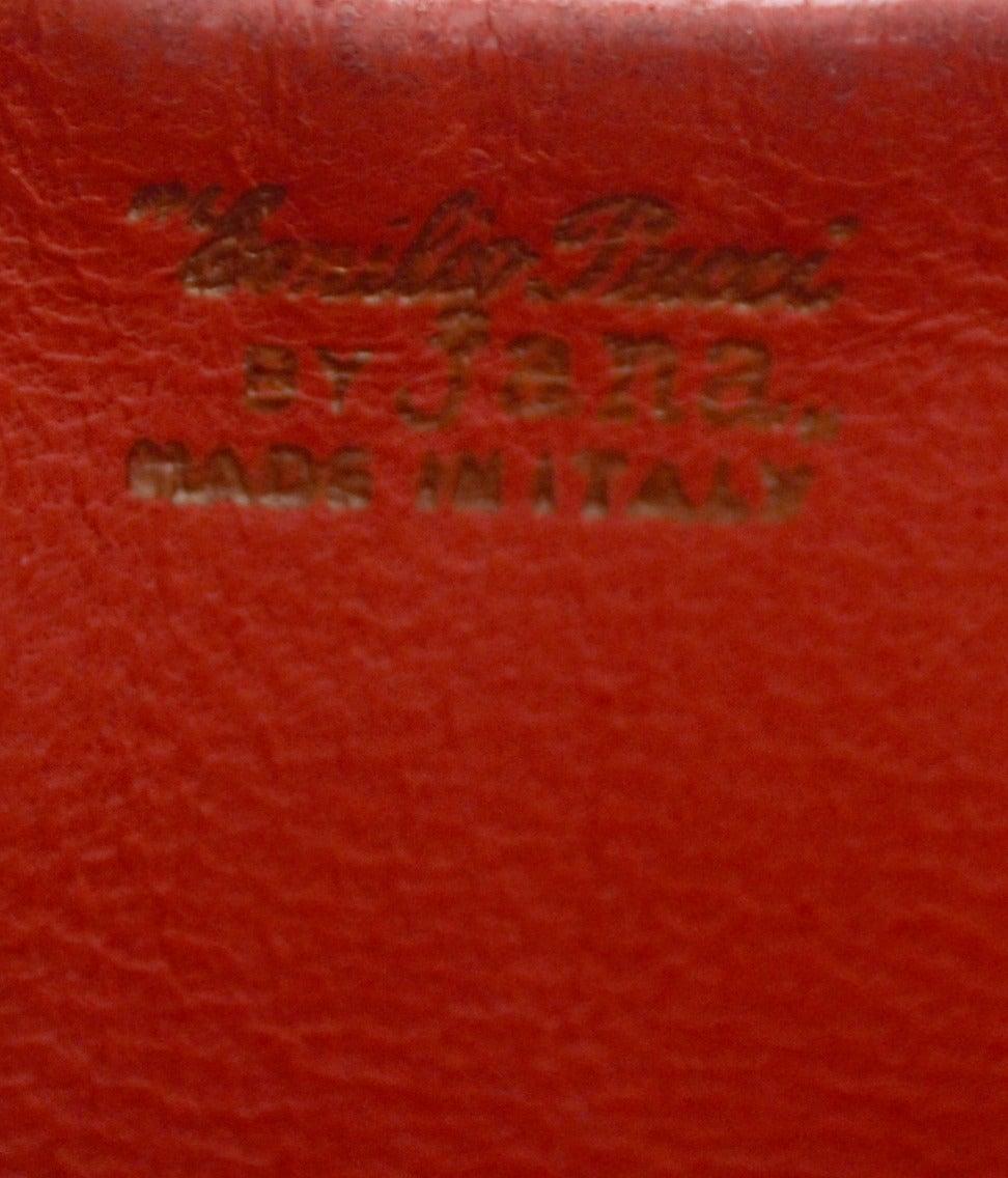 1960s Rare Emilio Pucci Jana Vintage Velvet Handbag Mod Geometric OpArt Rare Bag In Excellent Condition For Sale In Portland, OR