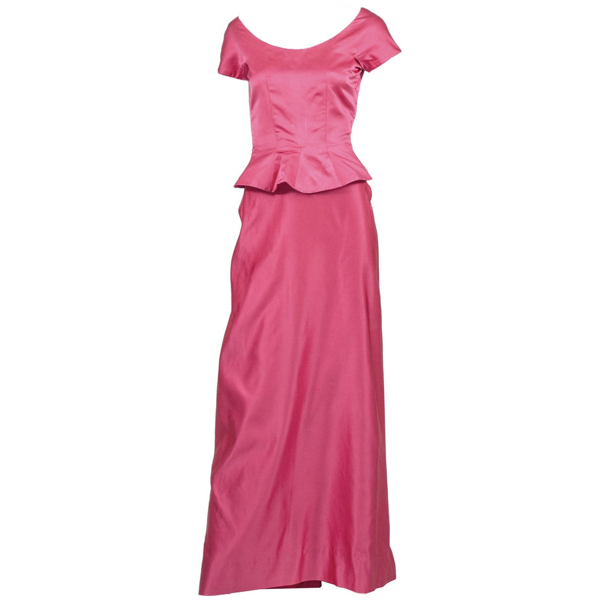 Satin Long Evening Dresses