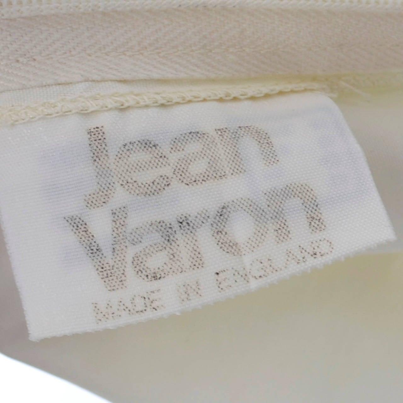 1970s Vintage Jean Varon John Bates Chiffon Designer Dress Batwing Sleeves For Sale 5