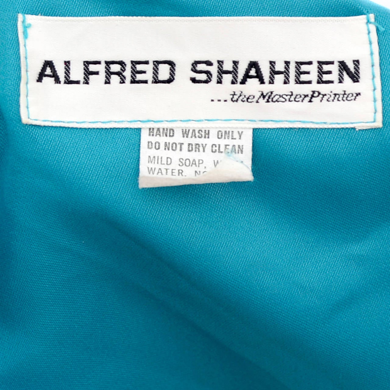 Alfred Shaheen Master Printer Vintage 2 Pc Pants Evening Coat Ensemble For Sale 2