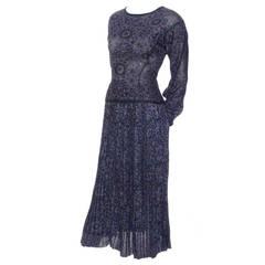 Missoni Metallic Sparkle Vintage Skirt Top Evening Outfit Saks Fifth Avenue