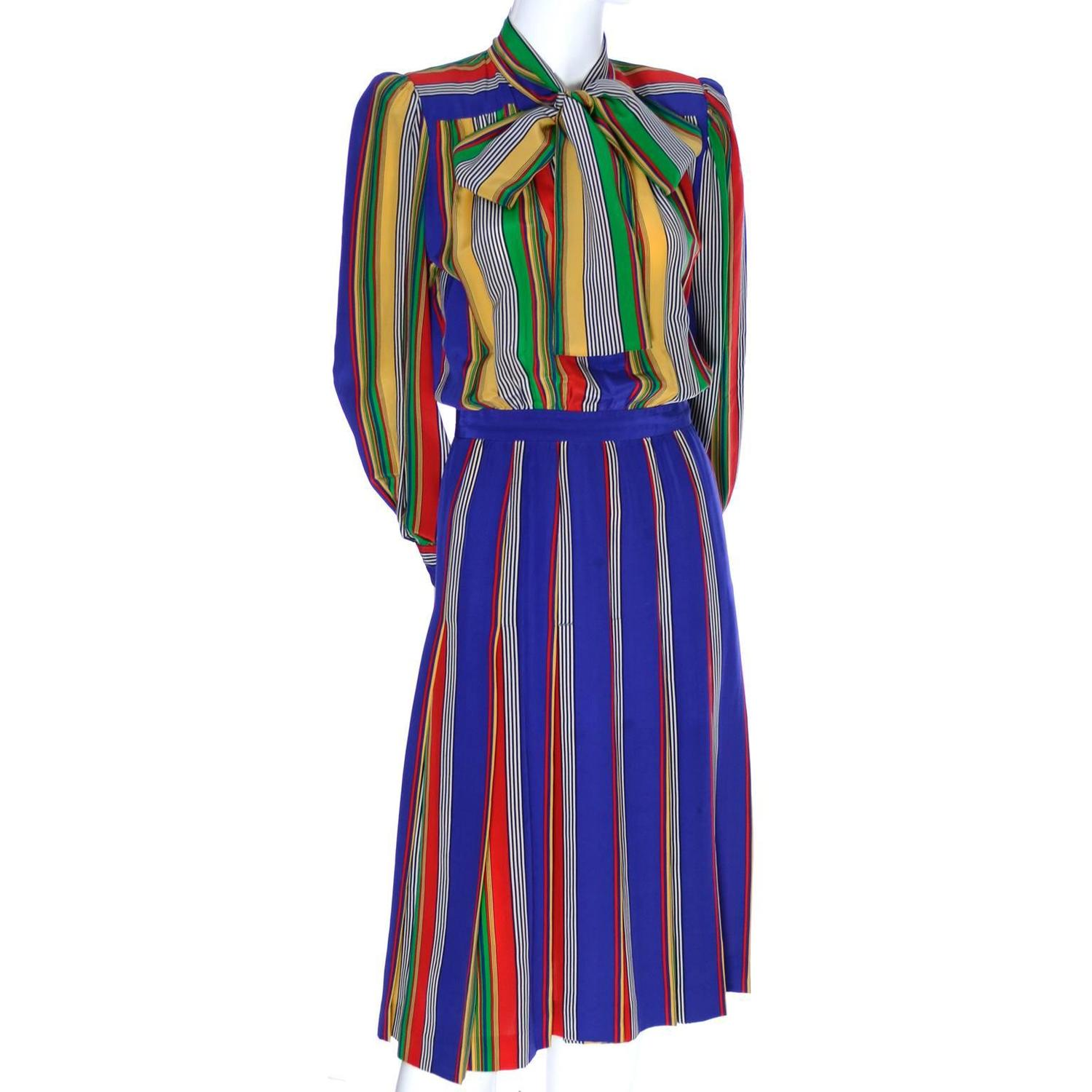 Vintage Yves Saint Laurent Day Dresses - 200 For Sale at 1stdibs