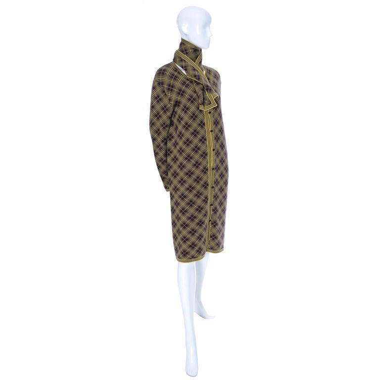 Yves Saint Laurent YSL Deadstock Vintage Moroccan Inspired Caftan Size 42 Unisex In New Condition For Sale In Portland, OR