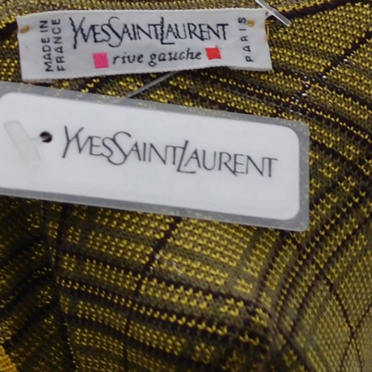 Yves Saint Laurent YSL Deadstock Vintage Moroccan Inspired Caftan Size 42 Unisex For Sale 1