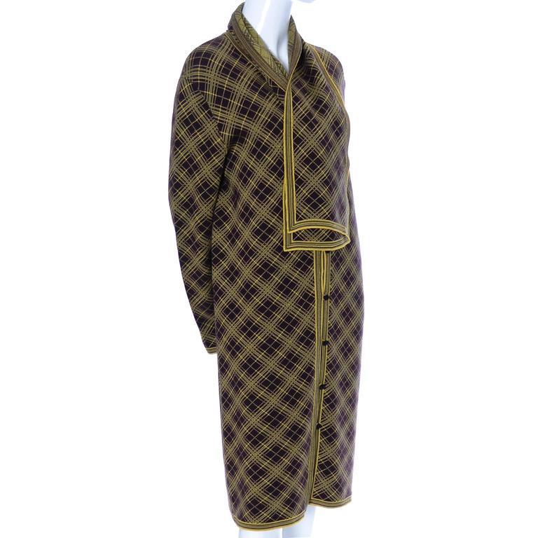 Women's or Men's Yves Saint Laurent YSL Deadstock Vintage Moroccan Inspired Caftan Size 42 Unisex For Sale