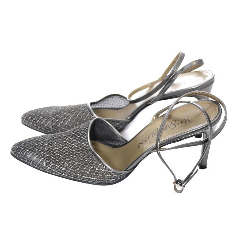 Blue Sole Shoes Ysl