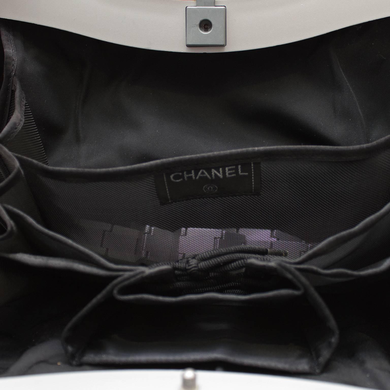 920f89c65347 2005 Chanel Premier Edition Futuristic Hard Shell Handbag at 1stdibs