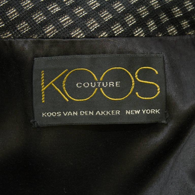 Women's or Men's 1990's Koos Van Den Akker Couture Mink and Patchwork Coat For Sale