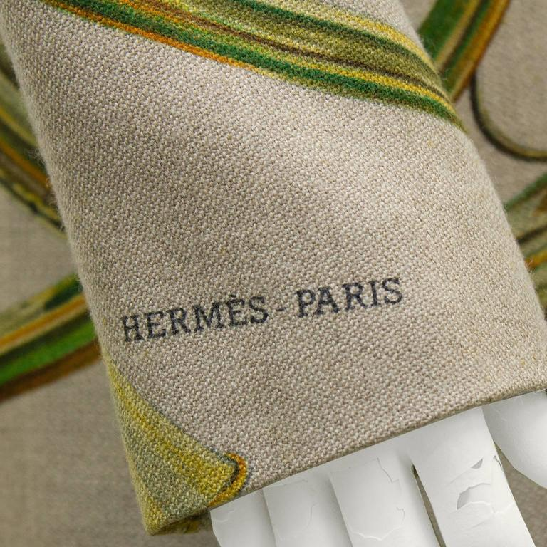 1980s Hermes Trompes de Chasse Wool & Cashmere Jacket 6