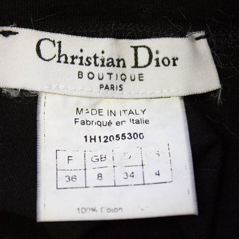 Women's 1990's Iconic Christian Dior 'J'ADORE DIOR' Muscle T For Sale