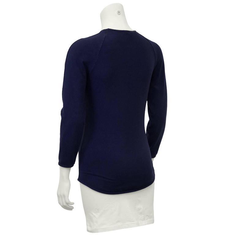 Circa 2000 Chloe Graphic Tiger Long Sleeve Shirt  3