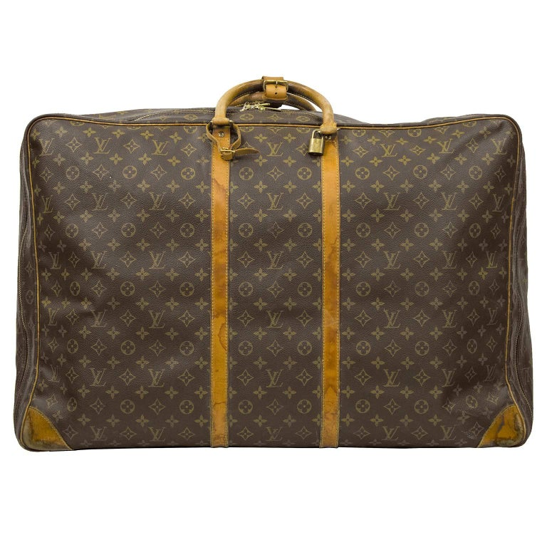 "1980's Louis Vuitton ""Sirius 70"" Monogram Suitcase"
