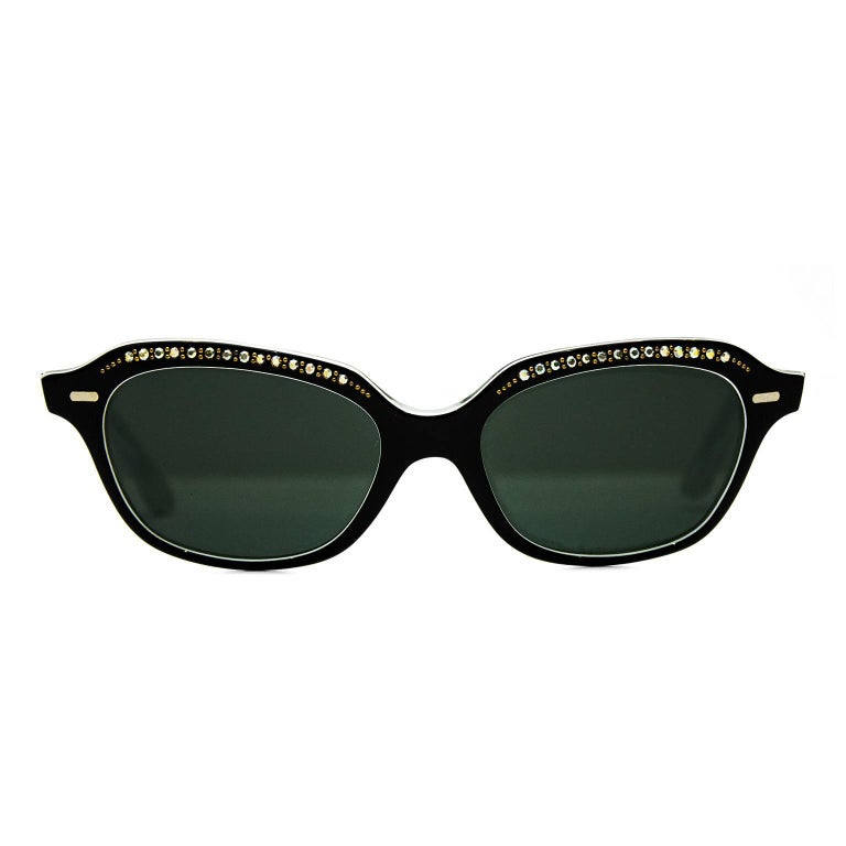 1950's Sun Rite Embellished Sunglasses