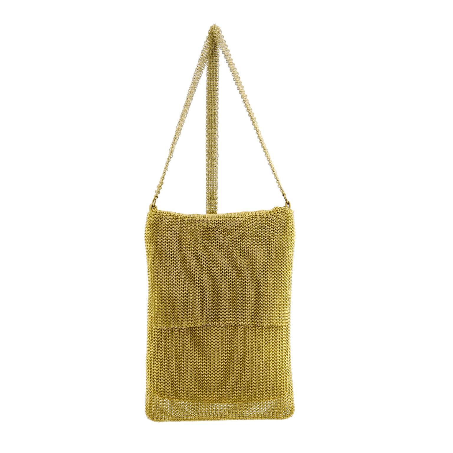 1stdibs Gold Mesh Box Bag i9Y2cA74AP