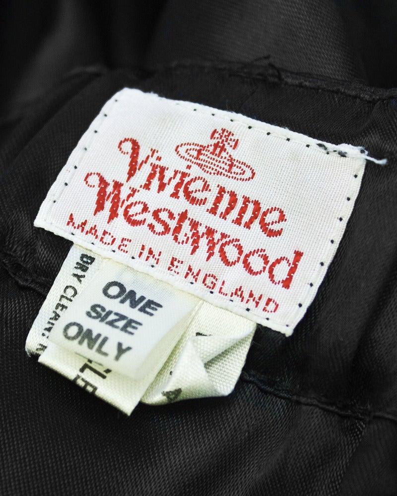 Vivienne Westwood Black Satin Hot Pants Circa 1980's 4