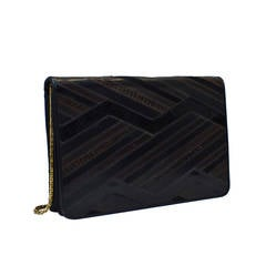 1980s Judith Leiber Luxe Patchwork Clutch
