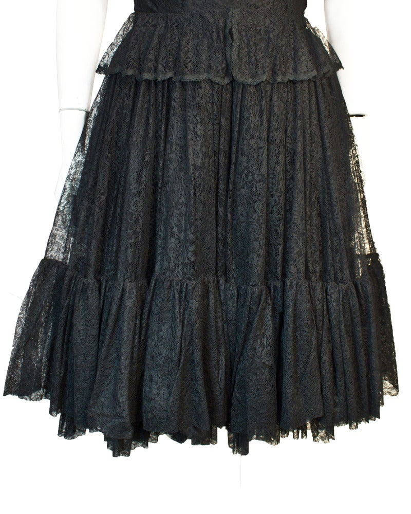 1960s holt renfrew black lace dress for sale at 1stdibs for Holt couture dresses