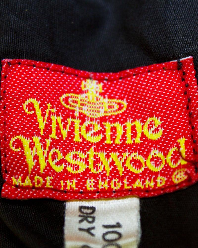 1980's Vivienne Westwood Black Velvet Bustier For Sale 1