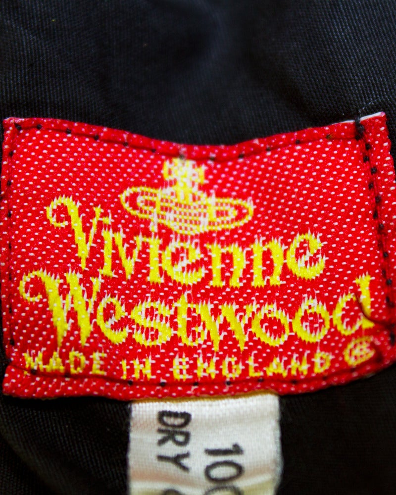 1980's Vivienne Westwood Black Velvet Bustier 5