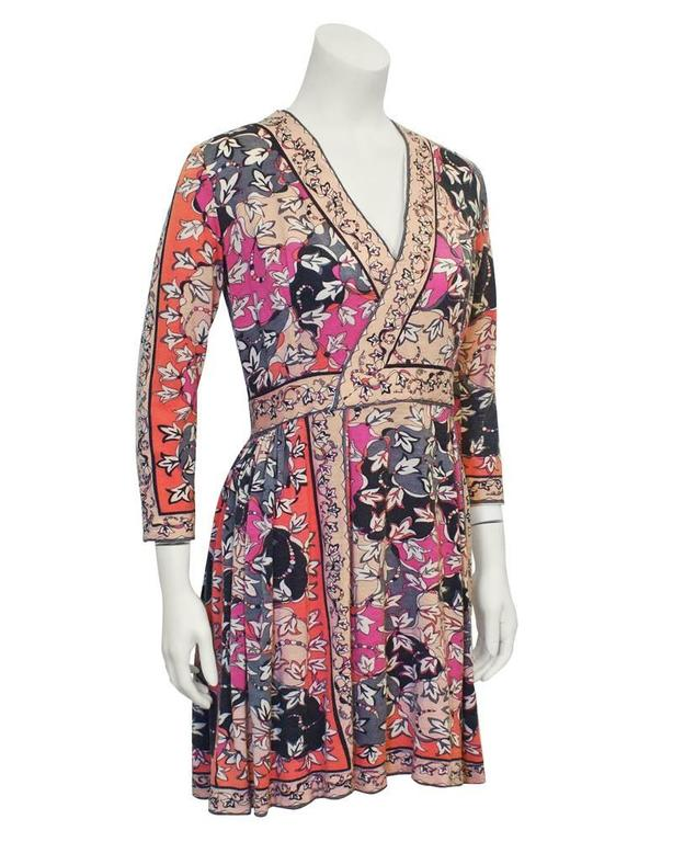 1970's Emilio Pucci Cashmere Knit Dress 2