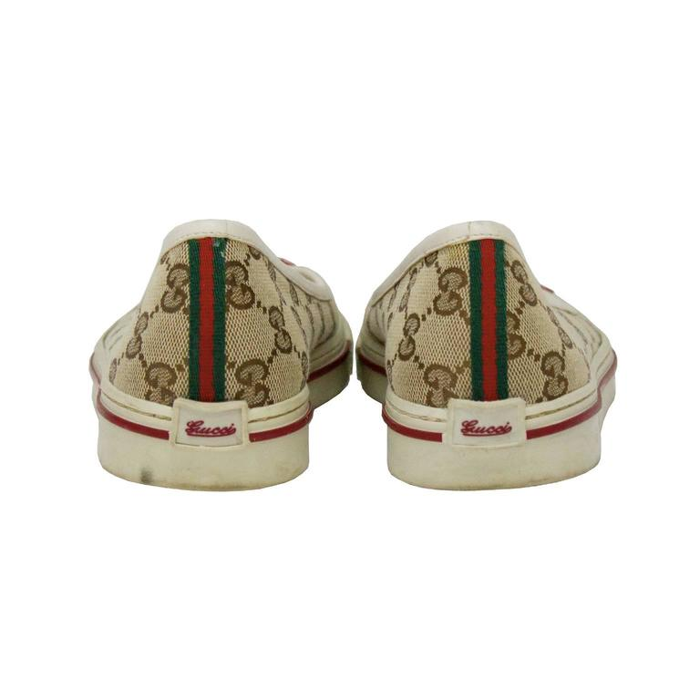 73531f27e7f83 2000 s Gucci Monogram Flats For Sale at 1stdibs