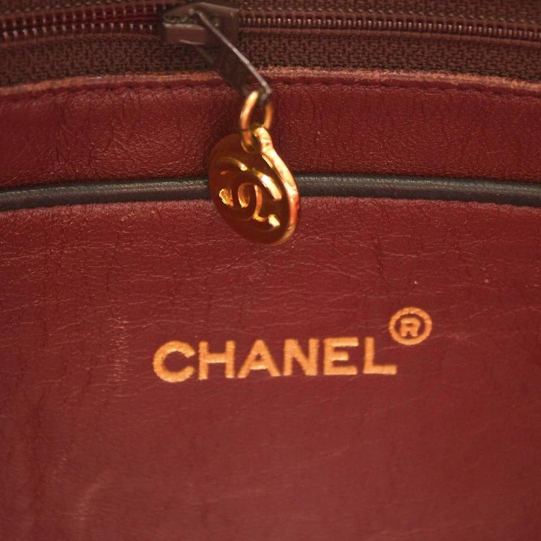 Women's 1980's Chanel Black Camera Bag  For Sale
