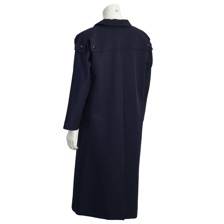 1970's Pierre Cardin Navy Trench  3