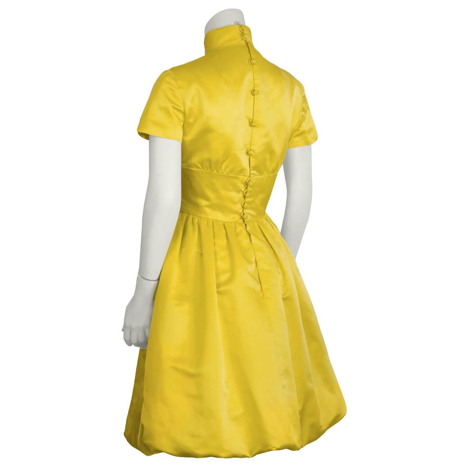 Yellow Cocktail Dresses For Sale 62