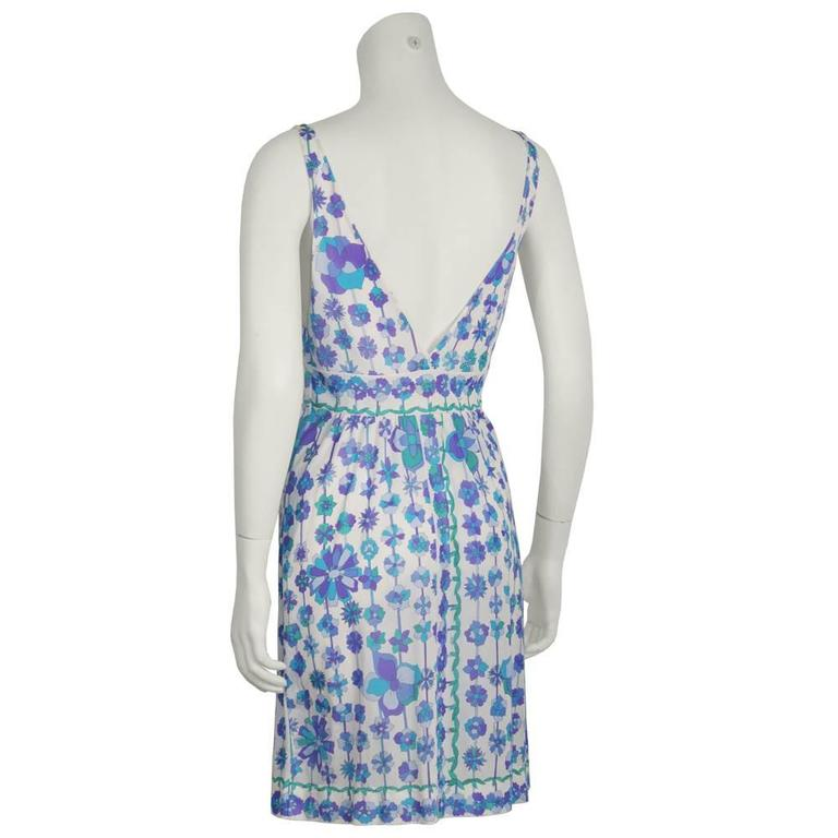 Two (2) 1970's Emilio Pucci For Formfit Rogers Slip Dresses 5