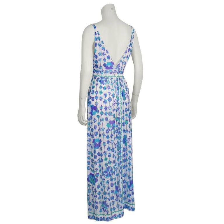 Two (2) 1970's Emilio Pucci For Formfit Rogers Slip Dresses 3