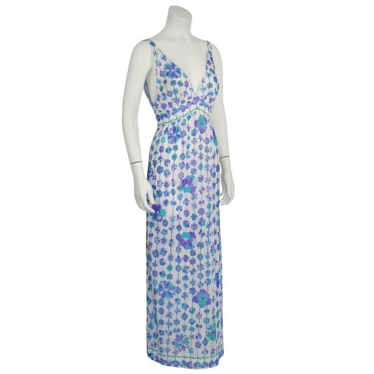 Two (2) 1970's Emilio Pucci For Formfit Rogers Slip Dresses 2