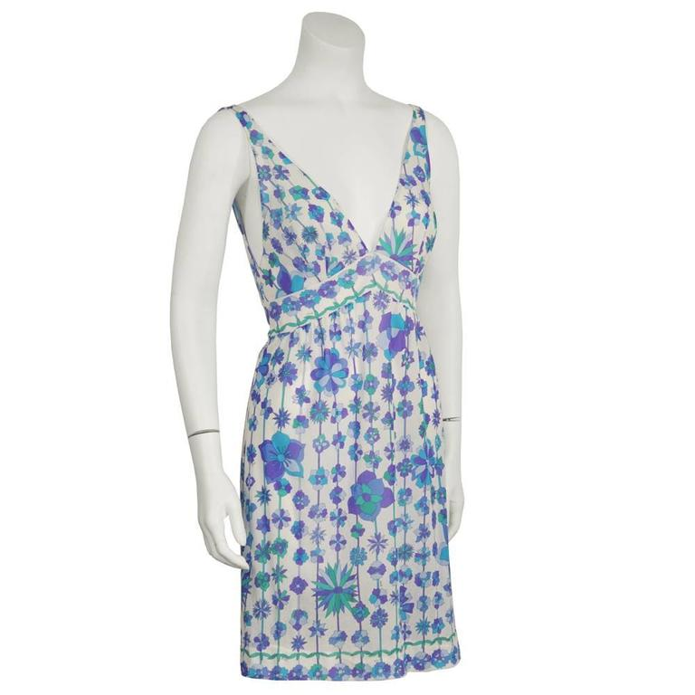 Two (2) 1970's Emilio Pucci For Formfit Rogers Slip Dresses 4