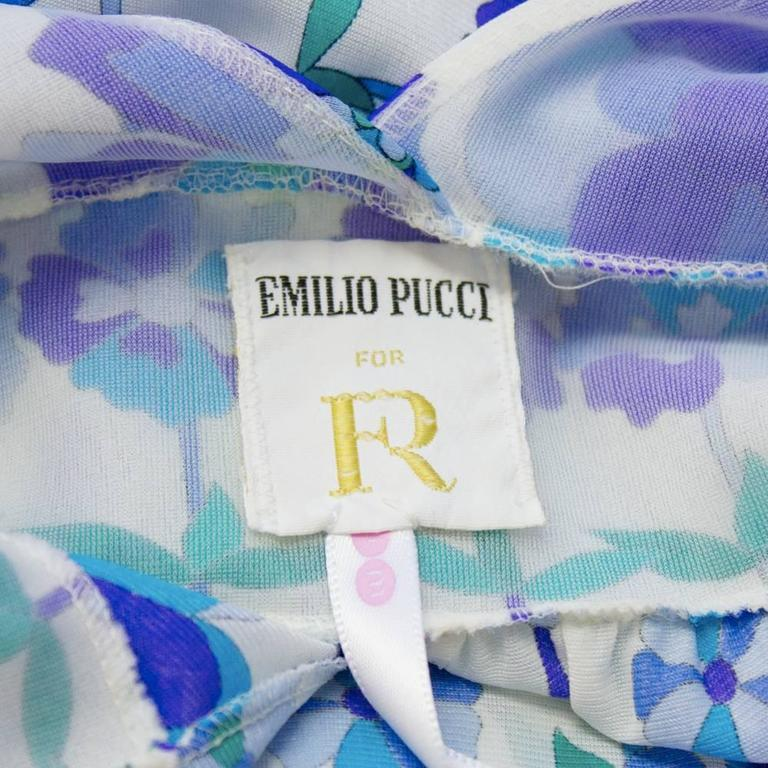 Two (2) 1970's Emilio Pucci For Formfit Rogers Slip Dresses 7