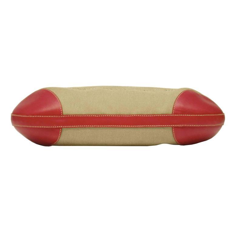 2000 Prada Hobo Bag with Red Trimming 6