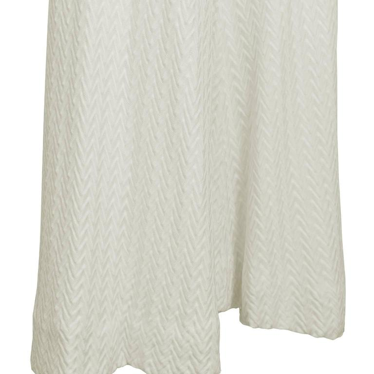 1970's Early Missoni Cream Knit Palazzo Pants  4