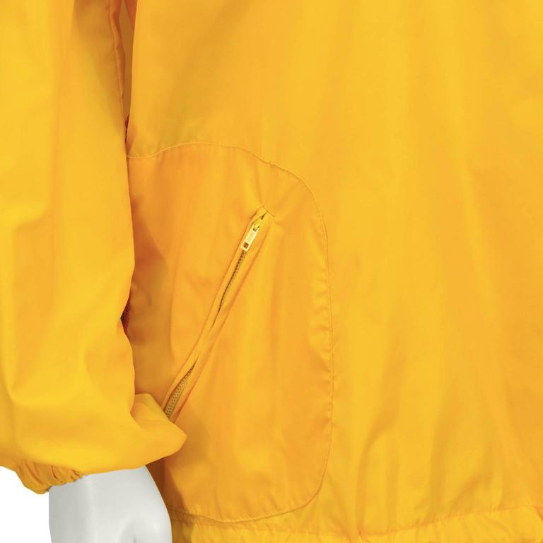 1970's The Beene Bag Yellow Windbreaker Outfit 6