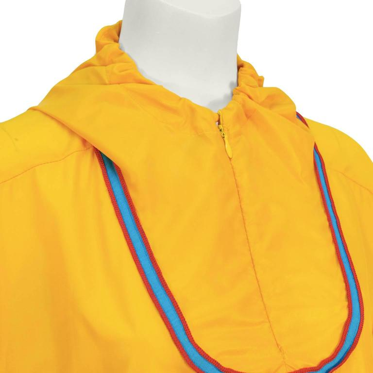 1970's The Beene Bag Yellow Windbreaker Outfit 5