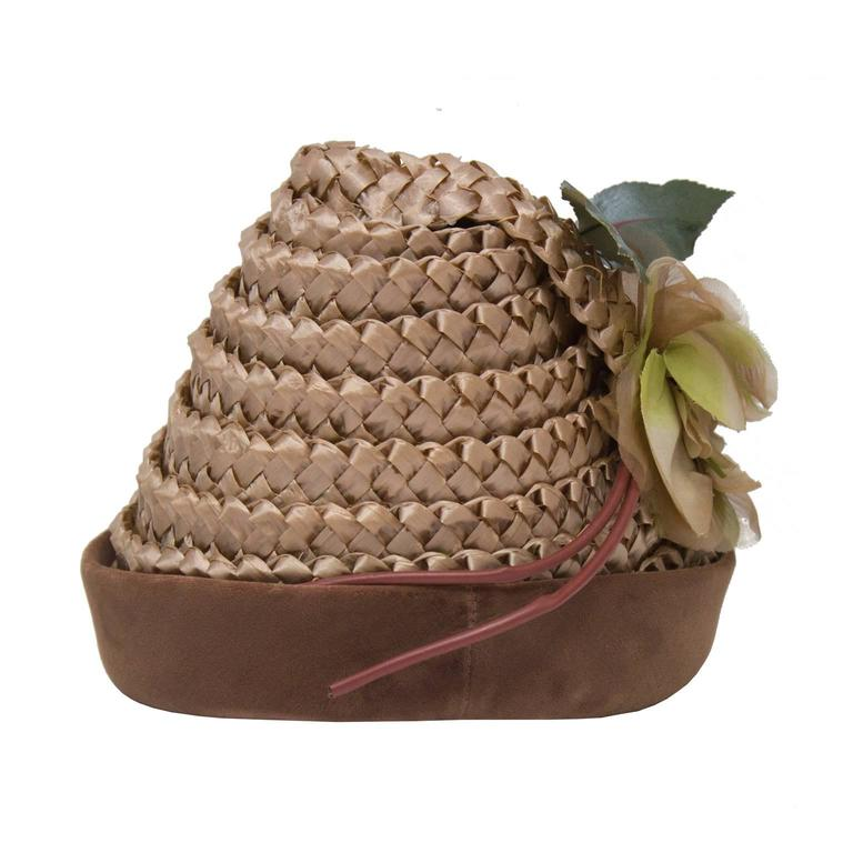 1950's Henry Morgan Beehive Hat 3