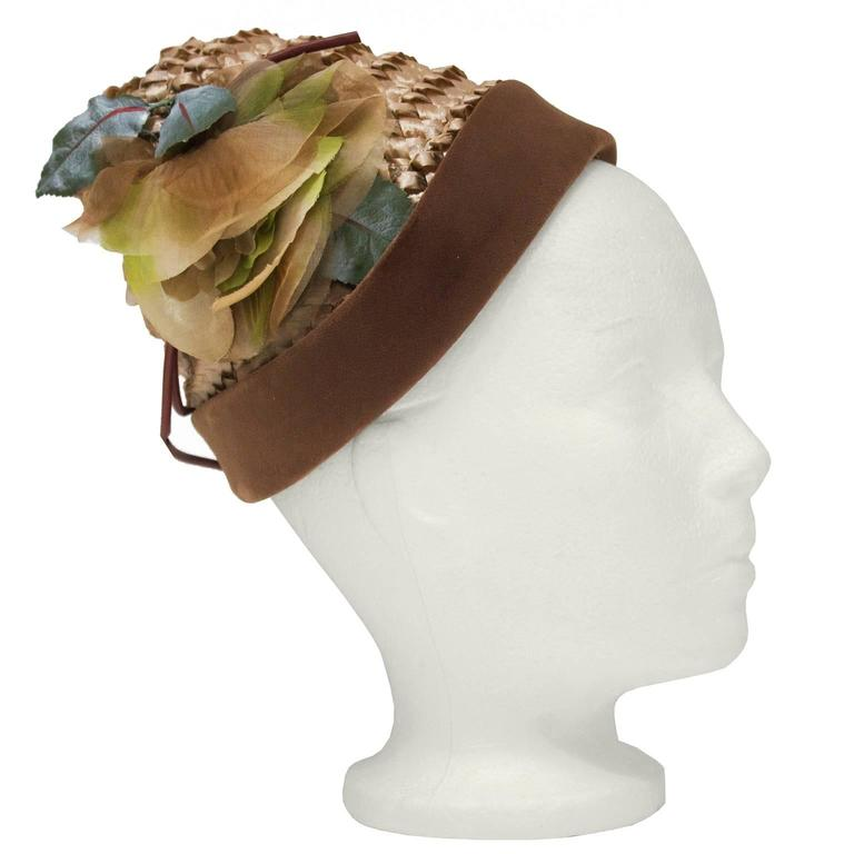 1950's Henry Morgan Beehive Hat 2