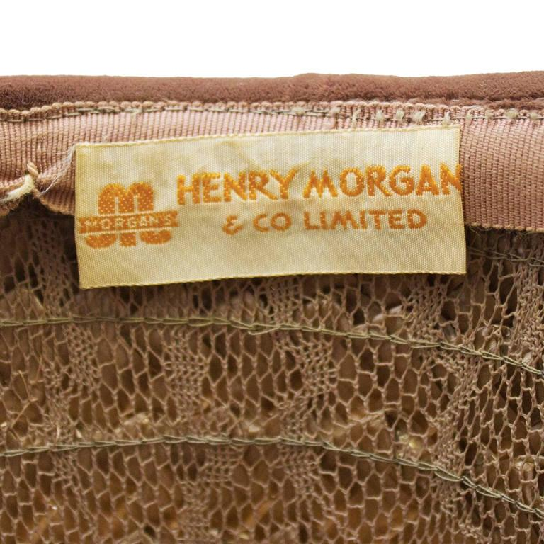 1950's Henry Morgan Beehive Hat 4
