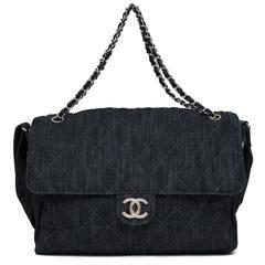 2008 Chanel Denim Jumbo 255