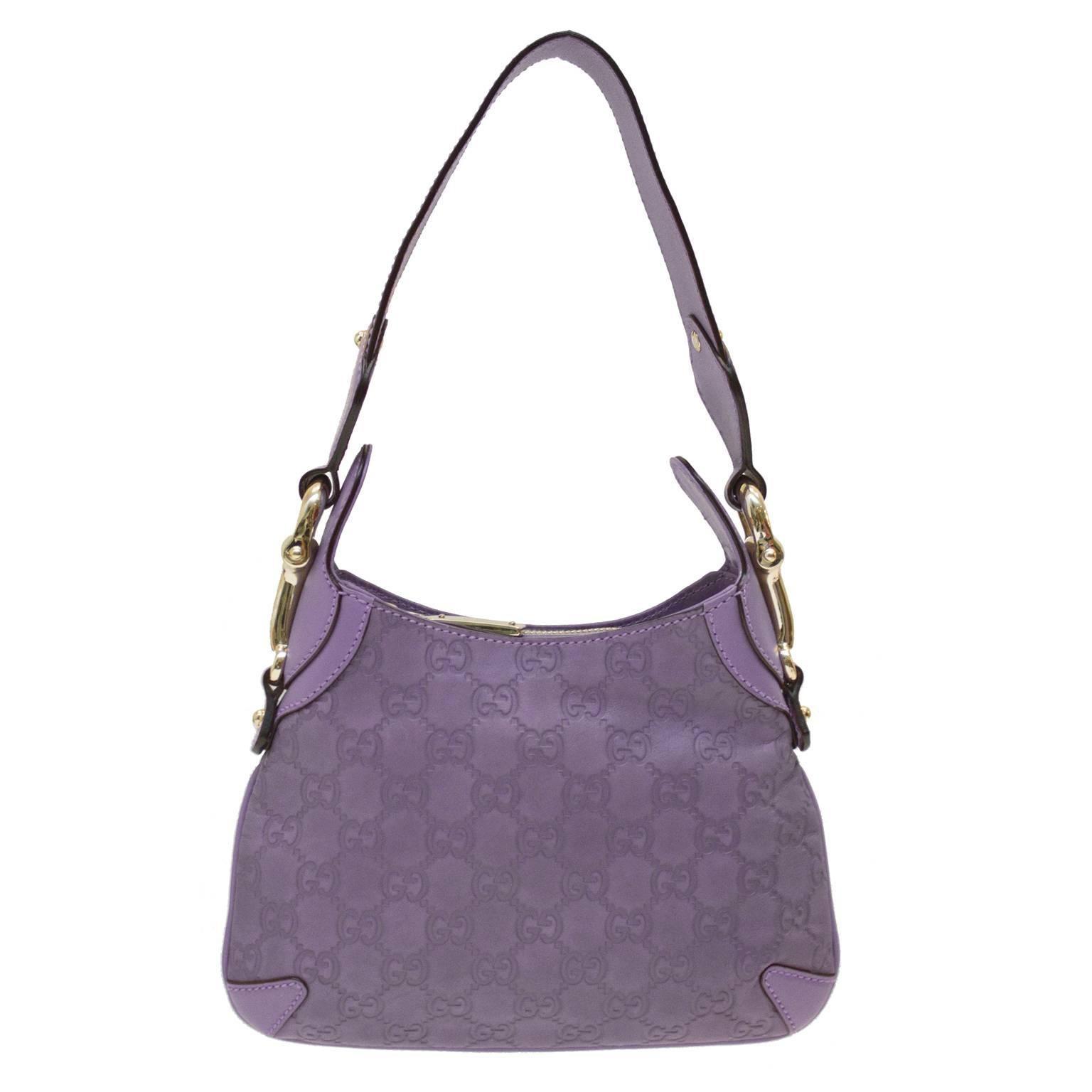 8da3782b006 Gucci Lilac Monogram Leather Mini Bag at 1stdibs