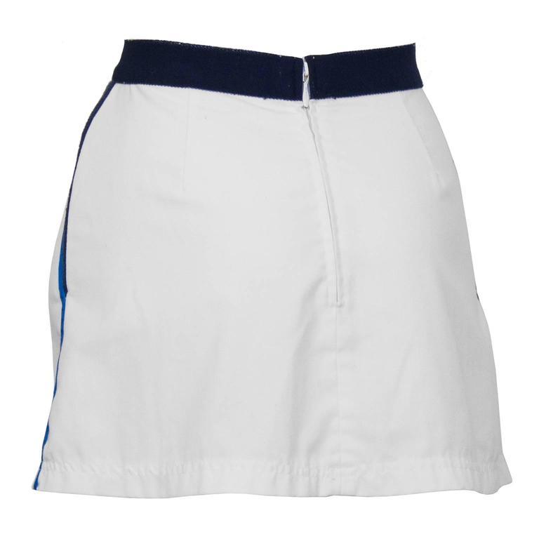 1970's Bogner Tennis Skirt 3